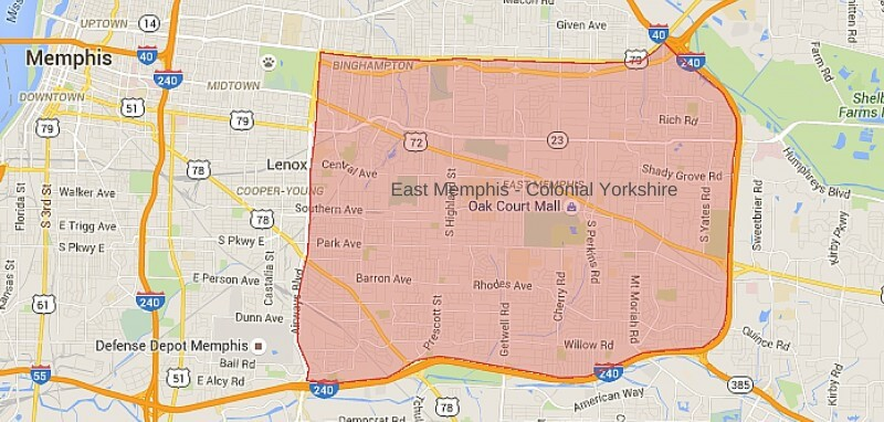 East Memphis