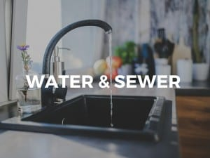 water & sewer