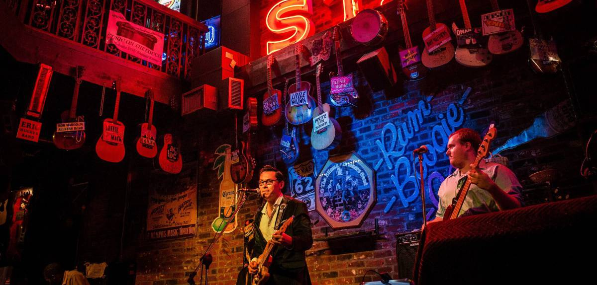 live music in memphis